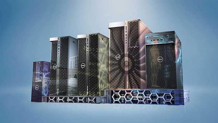 ورک استیشن و لپ تاپ های dell سری پرسیژن