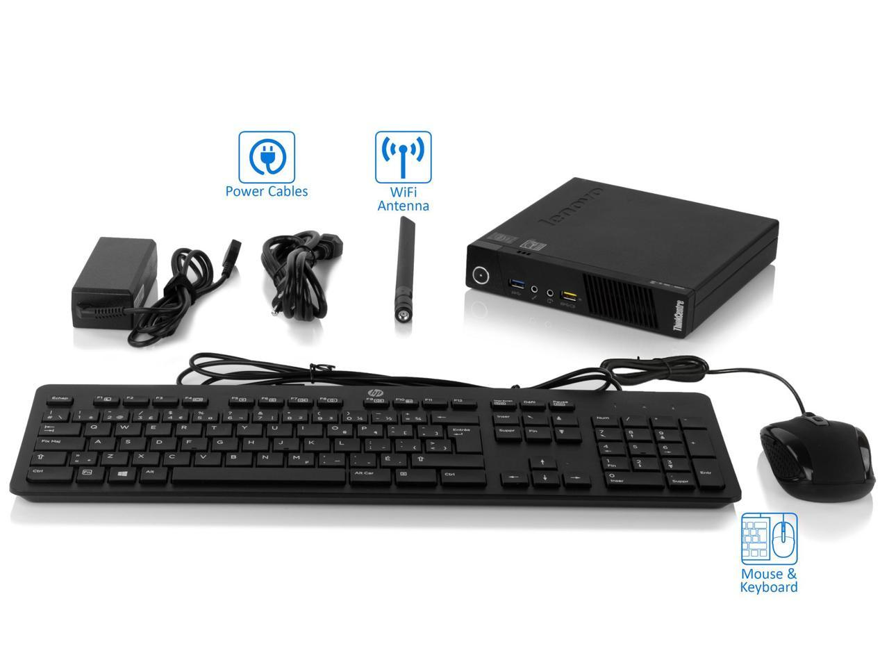 میکرو کیس lenovo thinkcenter M93p tiny desktop